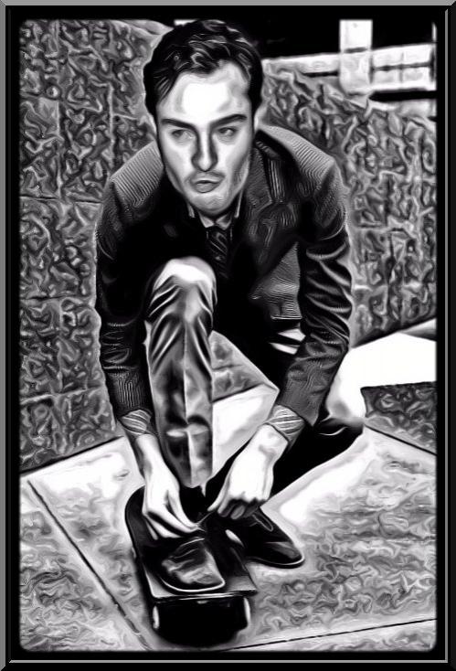 Ed Westwick by gothicat